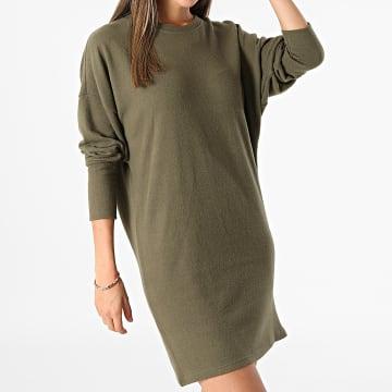 Noisy May - Robe Pull Femme City Vert Kaki