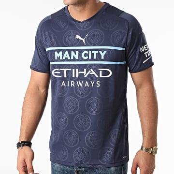 Puma - Tee Shirt De Sport Manchester City 3rd Replica 759219 Bleu Marine