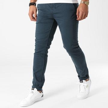 American People - Pantalon Chino Lars Bleu Marine