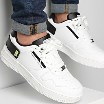 Classic Series - Baskets June White Black Lime