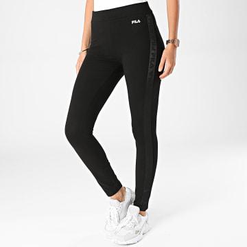 Fila - Legging Femme A Bandes 689138 Noir