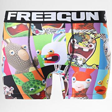 Freegun - Boxer Lapin Crétins PopArt Multi