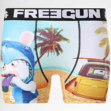 Freegun - Boxer Lapin Crétins Jaws Bleu