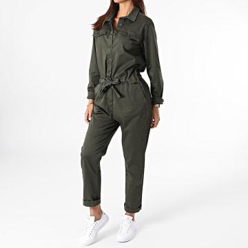 Girls Outfit - Combinaison Femme Sas Vert Kaki