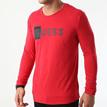 Guess - Tee Shirt Manches Longues M1YI66-J1311 Rouge