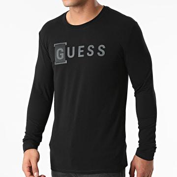 Guess - Tee Shirt Manches Longues M1YI66-J1311 Noir