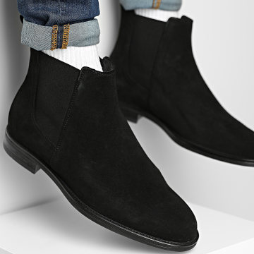 Jack And Jones - Chelsea Boots Stan Suede Anthracite