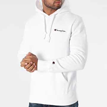 Champion - Sweat Capuche 216475 Blanc