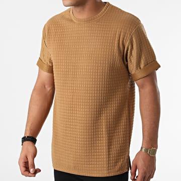 John H - Tee Shirt T146 Camel