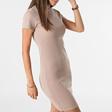 Project X Paris - Robe Femme F217060 Taupe