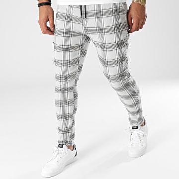 Uniplay - Pantalon Carreaux UP-T3656 Gris