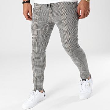 Uniplay - Pantalon Carreaux UP-T3657 Gris