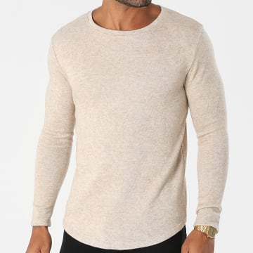 Uniplay - Pull Oversize UP-T825 Beige Chiné