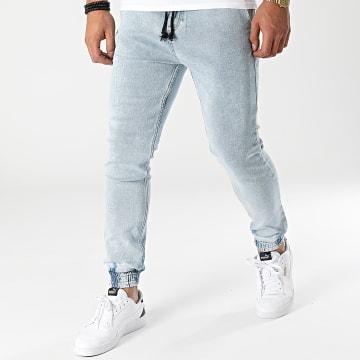 2Y Premium - Jogger Pant Jean 8066 Bleu Denim