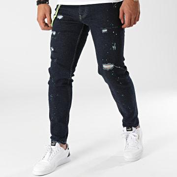 2Y Premium - Jean Skinny 6325 Bleu Brut