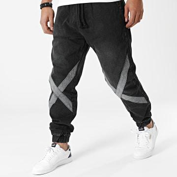 2Y Premium - Jogger Pant Jean 6446 Noir