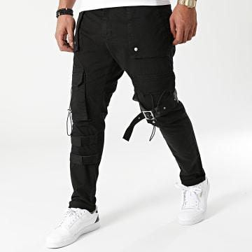 2Y Premium - Pantalon Cargo 6240 Noir