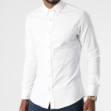 BOSS - Chemise Manches Longues Mabsoot 50462815 Ecru