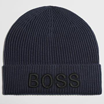 BOSS - Bonnet Afox 50444424 Bleu Marine