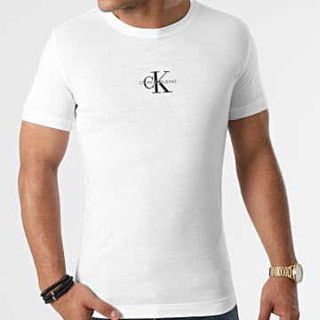 Calvin Klein - Tee Shirt New Iconic Essential 7092 Blanc