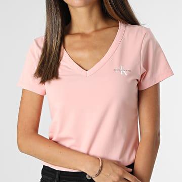 Calvin Klein - Tee Shirt Femme 7166 Rose