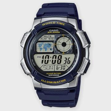 Casio - Montre Collection AE-1000W-2AVEF Bleu Marine