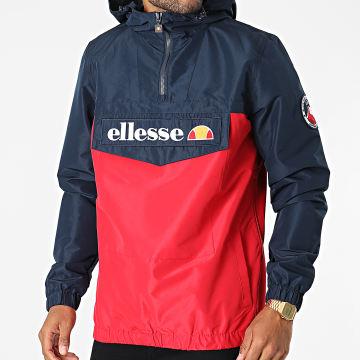 Ellesse - Coupe-Vent Col Zippé Capuche Mont 2 SHK06040 Rouge Bleu Marine