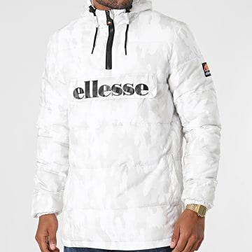 Ellesse - Veste Outdoor Capuche Leol SHK12208 Blanc Beige Camouflage