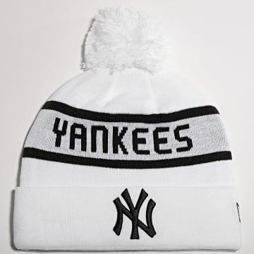 New Era - Bonnet Jake Cuff New York Yankees Blanc
