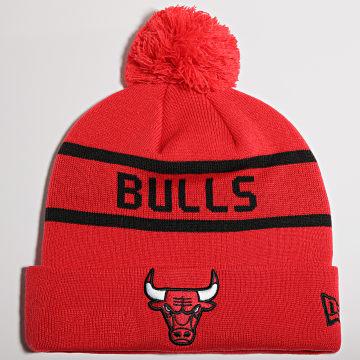 New Era - Bonnet Jake Cuff Chicago Bulls Rouge