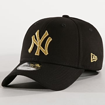 New Era - Casquette 9Forty Team Contrast New York Yankees Noir Doré