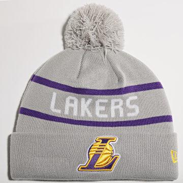 New Era - Bonnet Jake Cuff Los Angeles Lakers Gris