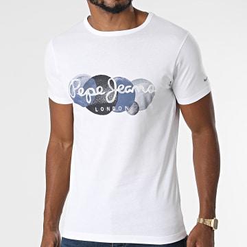 Pepe Jeans - Tee Shirt Sacha Blanc