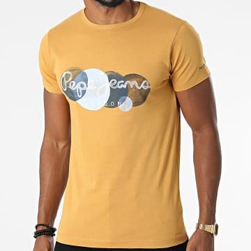 Pepe Jeans - Tee Shirt Sacha Moutarde