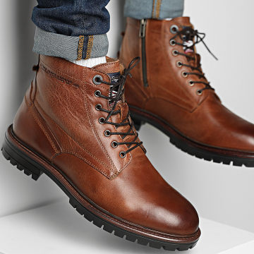 Pepe Jeans - Boots Ned Leather PMS50215 Tan