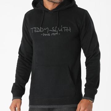 Teddy Smith - Sweat Capuche Siclass Noir