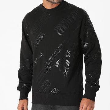 Versace Jeans Couture - Sweat Crewneck 71GAIT14-CFOOT Noir