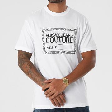 Versace Jeans Couture - Tee Shirt 71GAHT13-CJ00T Blanc