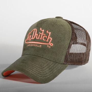 Von Dutch - Casquette Trucker 7030018 Vert Kaki Marron
