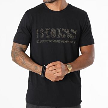BOSS - Tee Shirt Pixel 1 50457429 Noir Doré