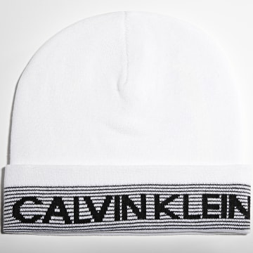 Calvin Klein - Bonnet 0116 Blanc
