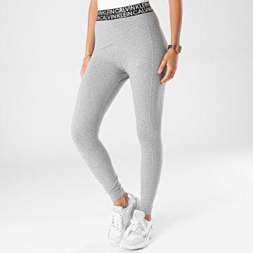 Calvin Klein - Legging Femme 1L604 Gris Chiné