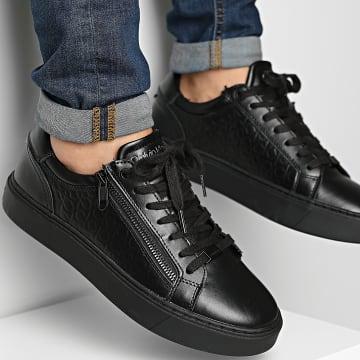 Calvin Klein - Baskets Low Top Lace Up 0282 Black Mono