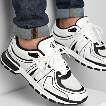 Calvin Klein - Baskets Runner Lace Up Mix 0234 Bright White