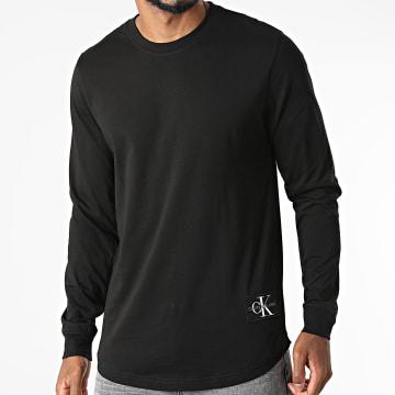 Calvin Klein - Tee Shirt Manches Longues 9312 Noir
