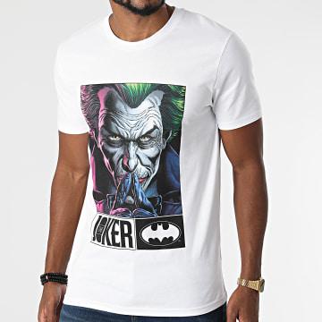 DC Comics - Tee Shirt Joker Serious Blanc