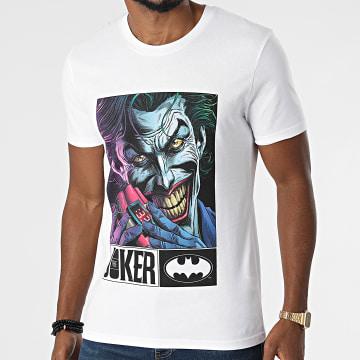 DC Comics - Tee Shirt Joker Bomb Blanc