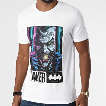 DC Comics - Tee Shirt Joker Jail Blanc