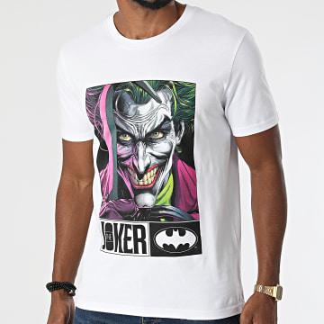 DC Comics - Tee Shirt Joker Hook Blanc
