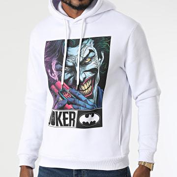 DC Comics - Sweat Capuche Joker Bomb Blanc
